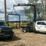 Pipefitting and crew truck services
